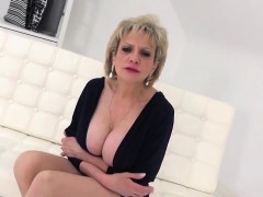 Unfaithful English Mature Lady Sonia Flaunts Her Giant Boobi
