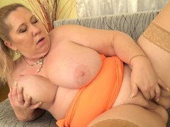 euro-gilf-dita-works-her-big-breasts-and-mature-pussy