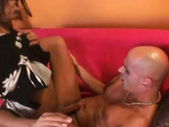 black-shemale-with-a-bbc-dominates-a-bald-hunk