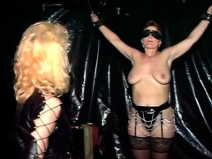 stunning blonde slave experience fetish games in bdsm