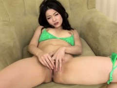 Ryu Enami Works Toys Over Her Pussy And Ass