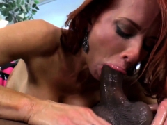 Redhead Mistress Pegging And Deepthroating
