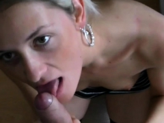 Pornstar Gives Pov Oral-service And Drinks Some Hawt Piss