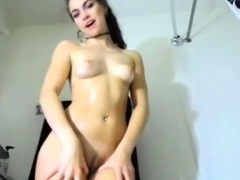 tall-brunette-fingers-and-toys-her-wet-pussy-solo
