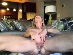Old Big Cunt Masturbating
