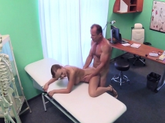 Tanned Busty Gal Fucks Doctor