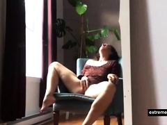 My Mother Masturbating In Her Lazy Chair