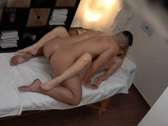 Blonde Busty Milf Cheating On Massage
