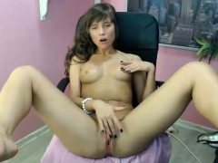 skinny solo girl masturbate her pink shaved