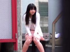 Asian Ho Pees Her Panties