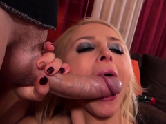 Gorgeous Blondie Alix Makes Serious Eye Contact During Pov
