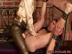 Severe Femdom Fisting Blonde