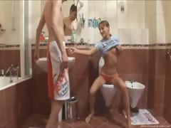 ivanas-morning-banging-in-the-bathroom