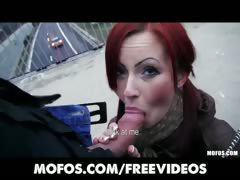 czech-redhead-is-paid-cash-to-flash-and-suck-dick-in-public