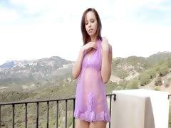 redhead-model-teasing-outdoors