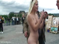 blonde-teen-sandra-nude-in-public