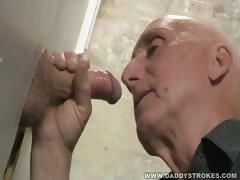 Glory Hole Jerk And Suck