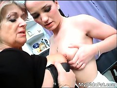Horny Milf Slut And Nasty Brunette Teen Part2