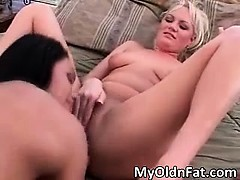 Super Hot And Sexy Brunette And Blonde Part5