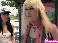 Bailey Jay Hooks Up With Bee Armitage For Some Hardcore