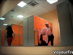 Alone Up The Locker Room Spy Webcam Part3