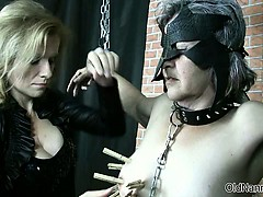 Nasty Old Whore Gets Tied Up And Spanked Part1