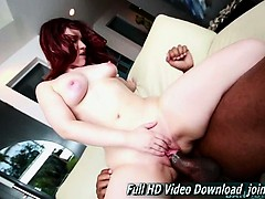 Lily Sincere Sweet Redhead Monsters Of Cock