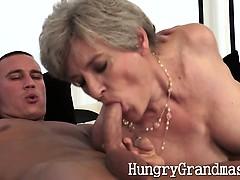 One Horny Sexy Granny