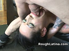 Latina Amateur Slut Getting Hammered In The Face