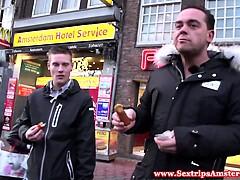 Real dutch BBW hooker gets horny