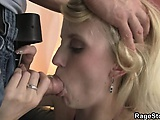 He finds out her dirty secret and bangs her rough