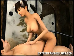 3d Hot Fantasy Girl Gets Fucked!