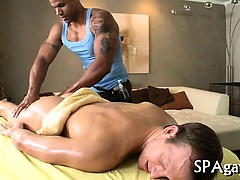 Provocative Gay Oral Stimulation
