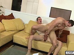Tall Amateur Stud Gets Ass Fucked By A Big Cock
