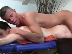 Straight Teen Turns Twink For Rub