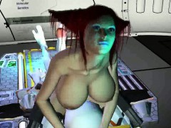 3d Redhead Sucks An Aliens Cock And Gets Eaten Out
