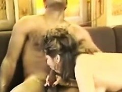 Vintage Milf Enjoying A Black Cock