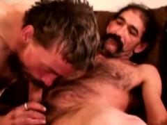 Hairy Gay Guys Sucking Soft Dicks