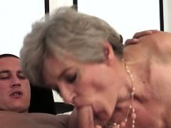 Grandma Is A Great Cock Sucker
