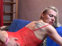 Hot Milf Lapdances, Sucks Cock And Fucks In Erotic Outfit