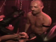 Leather Clad Guy Fisted