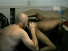 Older Guy Sucking And Getting Fucked By Black Twink