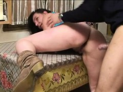 Mature barbara fucked in a threesome