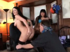 Foot Fetish Guy Gets Lucky With Two!