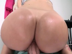 Stevie Shae lubes her big ass for an intense fuck session Like & Comment