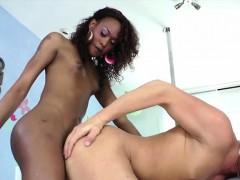 Ebony Tranny Kayla Biggs In Wild Anal