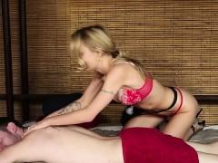 Cute Girl Sucking Huge Cock