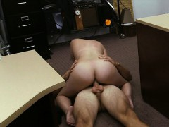 Latin Chick Selling Her Tv Gets Railed By Pervert Pawnkeeper
