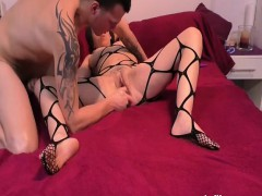 fisting-the-wifes-greedy-pussy