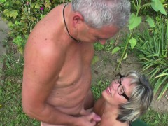 german-grandpa-and-grandma-fuck-hard-in-garden
